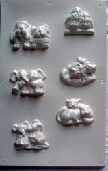 Gipszkiöntő páros figurákkal (No.:560031)