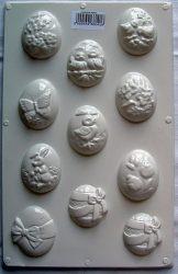 Gipszkiöntő tojások